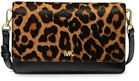 MICHAEL Michael Kors Mott Cheetah-Print Smartphone Crossbody