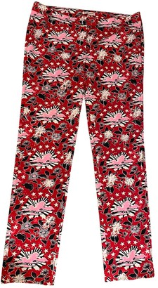 Juicy Couture Multicolour Polyester Trousers