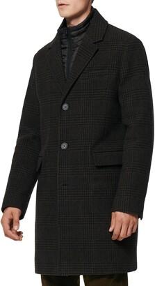 Andrew Marc Riegel Wool Blend Overcoat