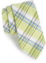 Nordstrom Men's Plaid Cotton & Silk Tie