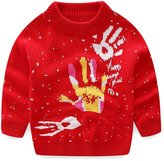Little Spring LittleSpring Little Girls' Sweater Christmas Long Sleeve Size 6T