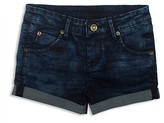 Hudson Girls' Denim Look French Terry Shorts - Sizes 2T-6X
