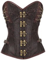 F style Sexy Corsets For Women 14 Steel Bone Steampunk Custom Made Corset with Thong