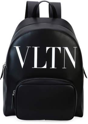 Valentino Garavani Men's VLTN Leather Backpack
