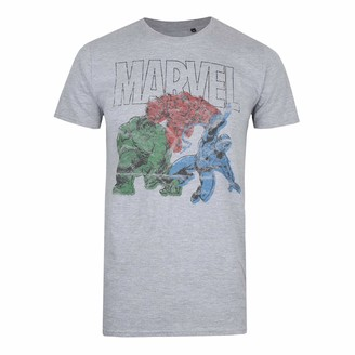 Marvel Men's Trio T Shirt XXL