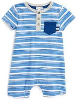 Splendid Space Dye Stripe Romper (Baby Boys)