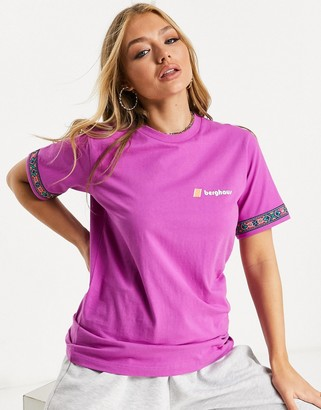 Berghaus Tramantana t-shirt in purple