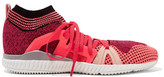 adidas by Stella McCartney Crazy Move Bounce Mesh Sneakers - Coral