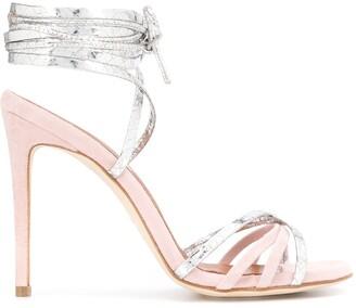 Paris Texas strappy stiletto sandals