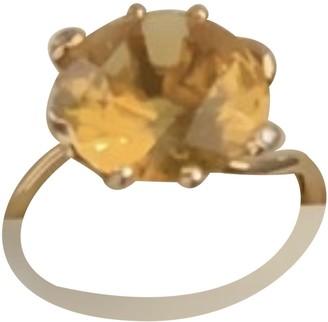 Christian Dior Orange Yellow gold Rings