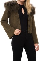 Sea Fur Collar Sweater