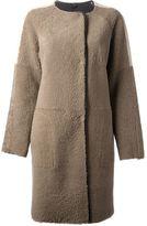 Inès & Marèchal tri-colour coat