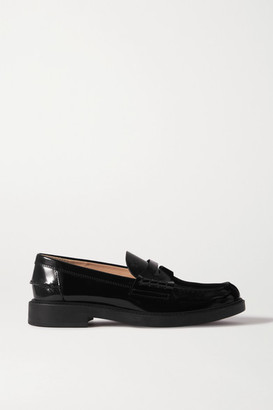 Tod's Patent-leather Loafers - Black