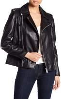 W118 by Walter Baker Liza Moto Leather Jacket