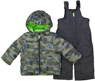 Osh Kosh Toddler Boy Camo Print Snowsuit
