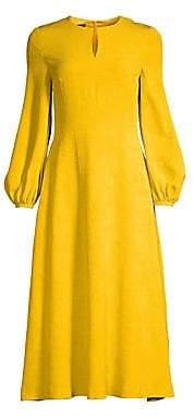 Escada Women's Dehla Silk Jacquard Midi Dress
