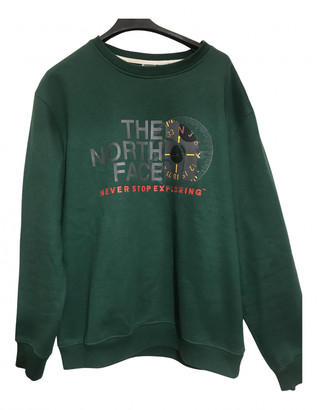 The North Face Green Cotton Knitwear & Sweatshirts