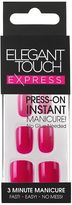 Express Nails Polished Bright Pink