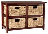 Cabinet With Four Baskets Storage