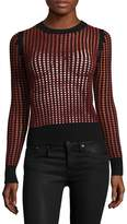 Jonathan Simkhai Women's Open Weave Sweater
