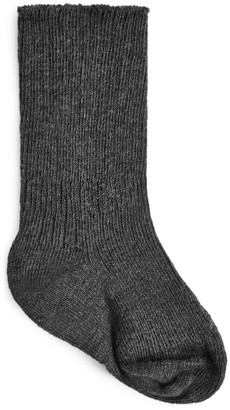 Arket Rib-Knitted Socks