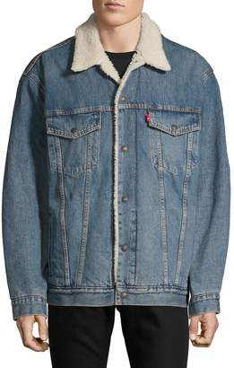 Levi's Faux Shearling-Lined Trucker Jacket