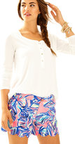 Lilly Pulitzer 5 Buttercup Scallop Hem Short