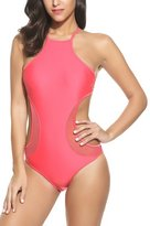 Avidlove Sexy High Waist Bathing Suit Cut Out One Piece Swimsuit For Women