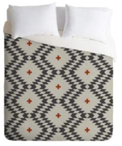 Deny Designs Holli Zollinger Native Natural Plus King Duvet Set Bedding