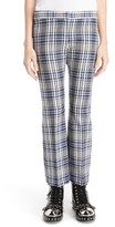 Alexander McQueen Women's Celtic Check Crop Flare Pants