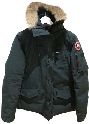 Canada Goose Montebello Green Coat for Women