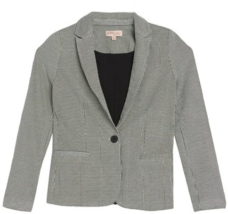 Philosophy di Lorenzo Serafini Notch Collar Ponte Blazer Jacket