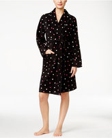 Charter Club Fleece Short Robe, Only at Macy's