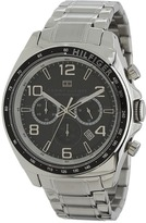 Tommy Hilfiger 1790939 Sport Luxury Chronograph and Stainless Steel Bracelet Watch (Silver) - Jewelry