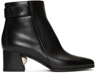 Nicholas Kirkwood Black Miri Boot