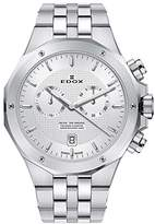 Edox Men's 'Delfin' Quartz Stainless Steel Dress Watch