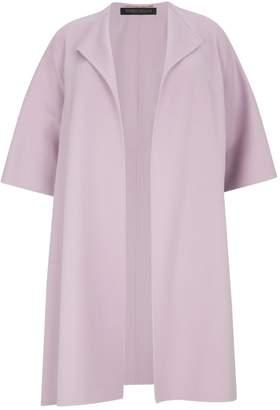 Marina Rinaldi Wool-Cashmere Open Coat