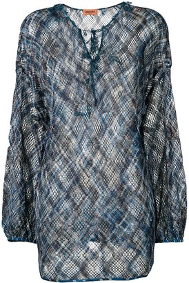Missoni Crochet Knit Tunic