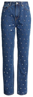 Ganni Studded Denim Jeans
