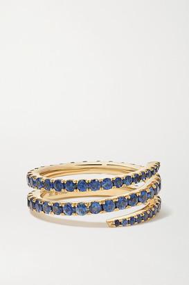 Anita Ko 18-karat Gold Sapphire Ring - 5