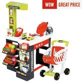 Smoby Supermarket Playset - Red