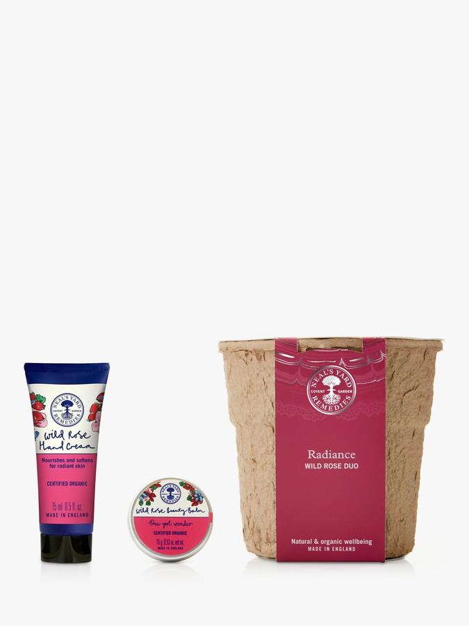 Neal's Yard Remedies Radiance Wild Rose Duo Skincare Gift Set