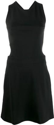Love Moschino Crossover Strap Dress