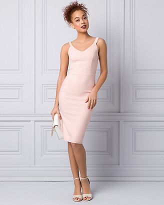 Le Château Bengaline V-Neck Dress