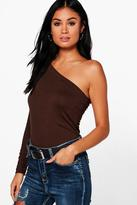 Boohoo Evie One Shoulder Top