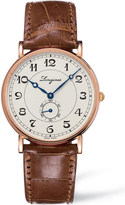 Longines Heritage L4.767.8.73.2 rose gold watch