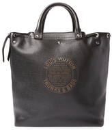 Louis Vuitton Vintage Black Leather Tobago Shoe Bag