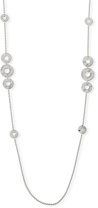 "Ippolita Senso Galaxy Disc Necklace in Sterling Silver, 38""L"