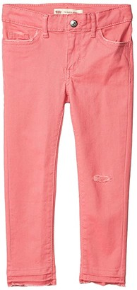 Levi's(r) Kids 710 Color Jeans (Little Kids) (White) Girl's Jeans