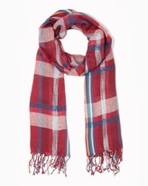 Charming charlie Elgin Plaid Scarf